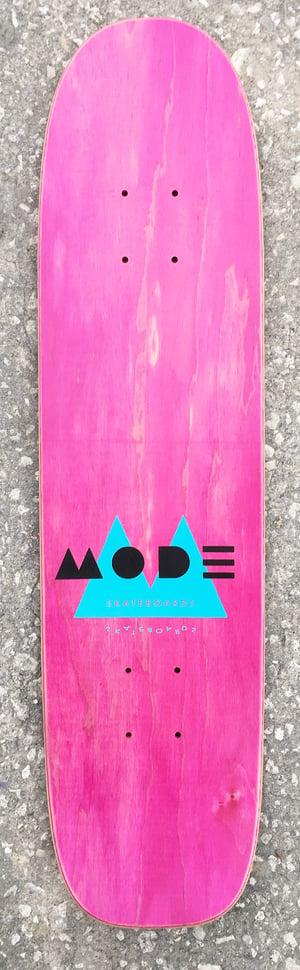 "Image of ""Mode Deco"" 29"" single-kick freestyle deck (black)"