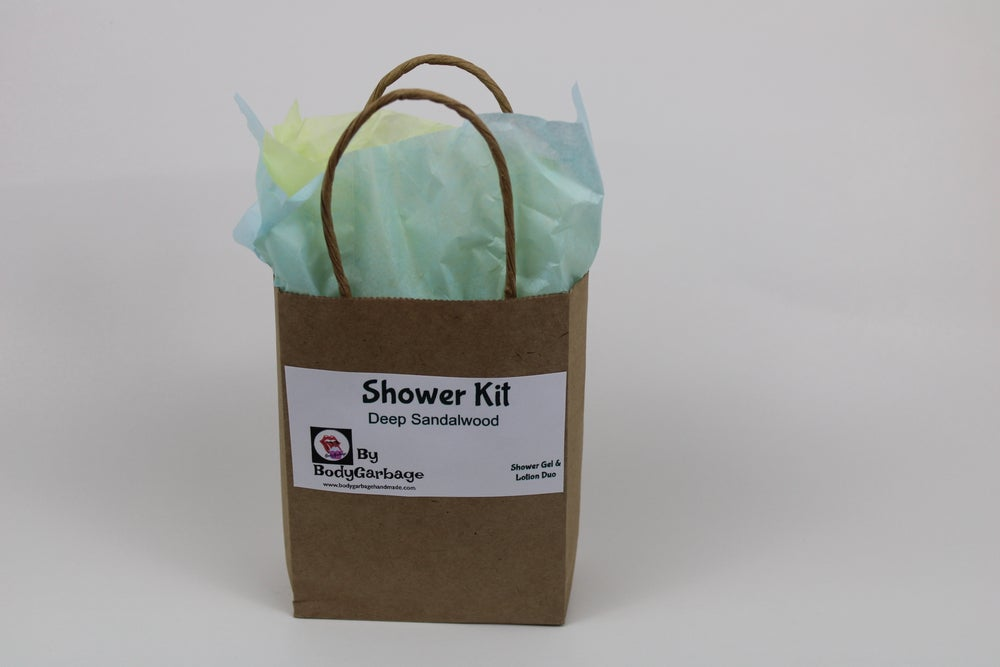 Image of Deep Sandalwood Shower Kit Duo