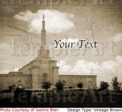 Image of Albuquerque New Mexico LDS Mormon Temple Art 002 - Personalized Temple Art