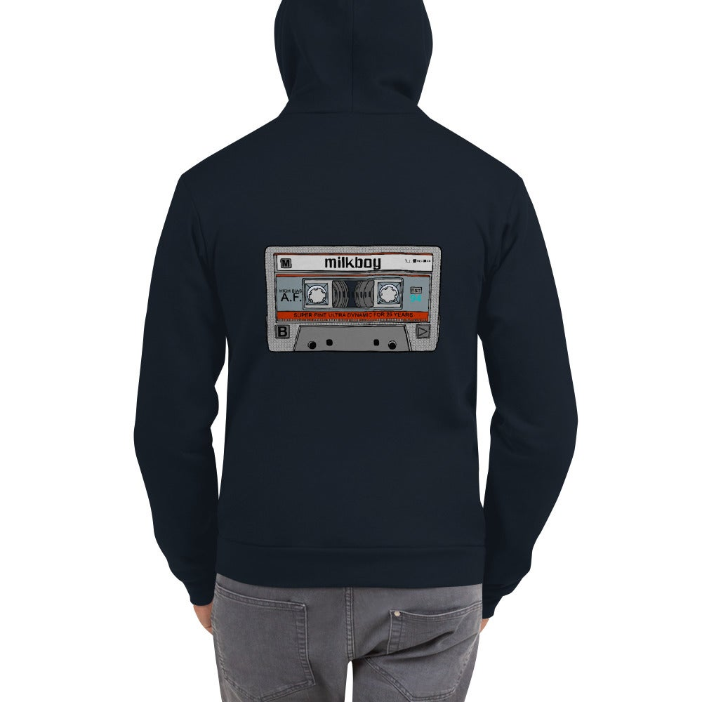 Image of MilkBoy Maxell Tap Zip Up Navy