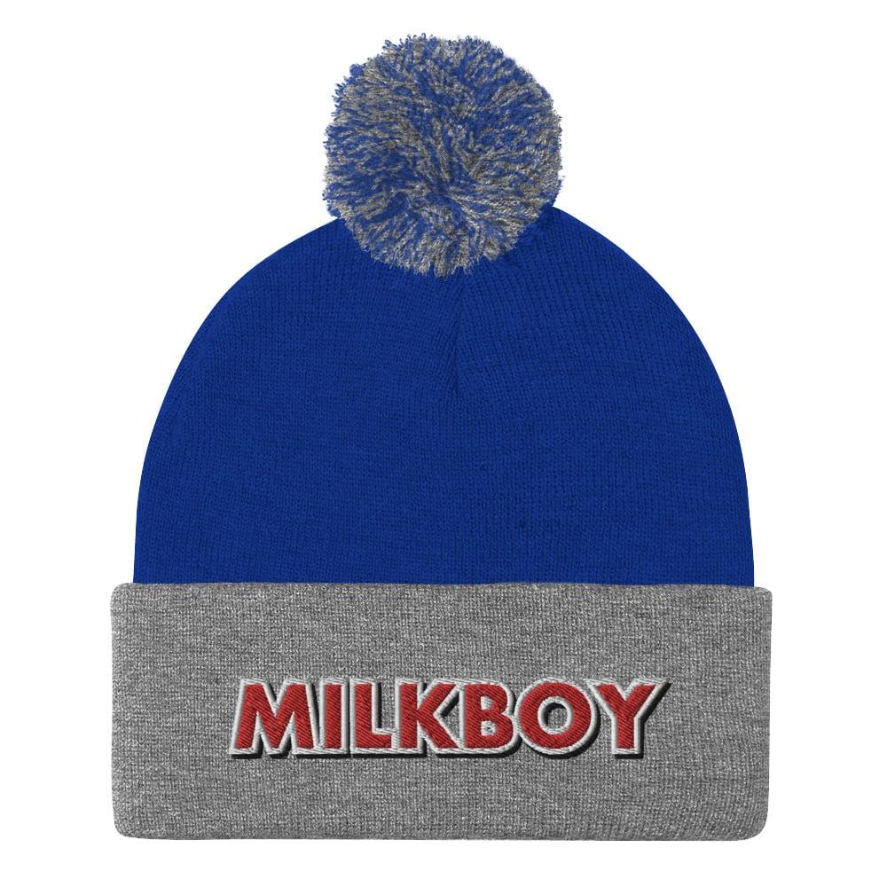 Image of MilkBoy Pom Pom Beanie Royal Blue