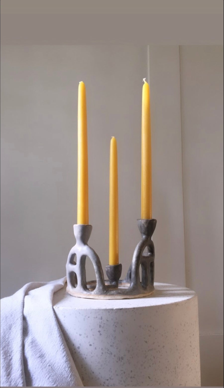 Image of singing stones candelabra