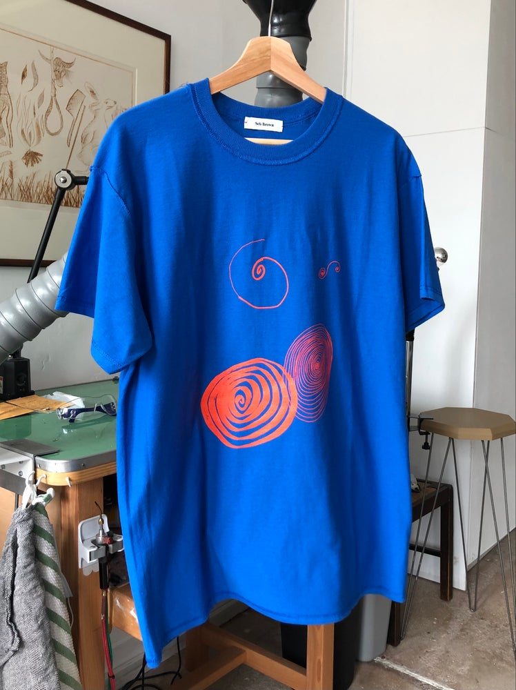 Image of Spirals T-shirt - recylced