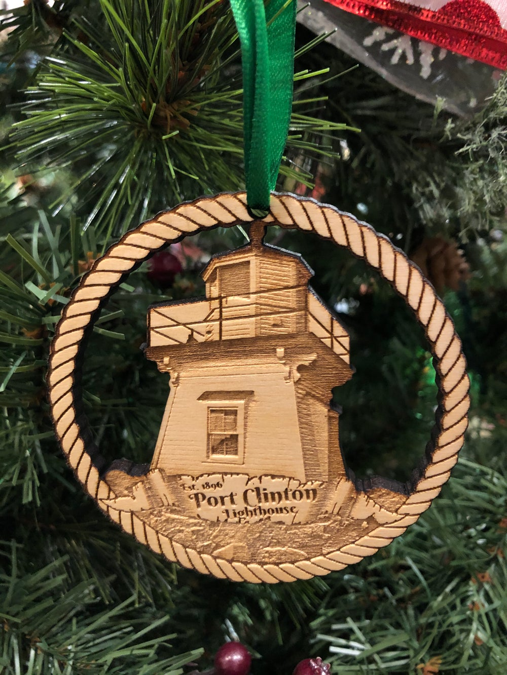 Image of Port Clinton Lighthouse Ornament
