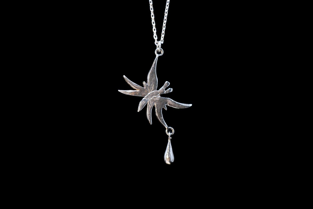 Image of Butterfly Tear // Delicate Chain Necklace