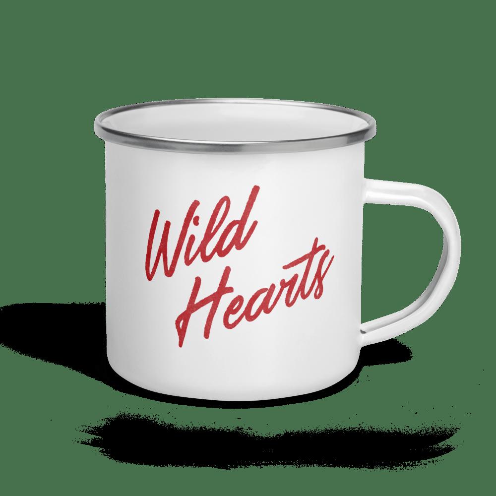 Image of Wild Hearts Enamel Mug