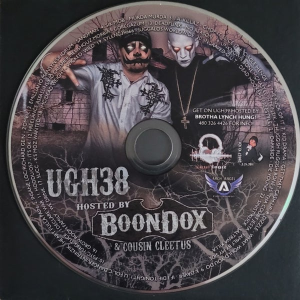 Image of Underground Hustlin' 38 hosted by Boondox