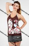 Punkyfish Printed Singlet top