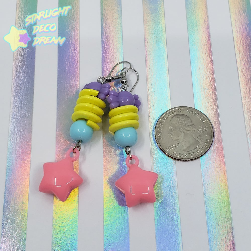 Image of Retro Funk Spiral Earrings Style Selection B