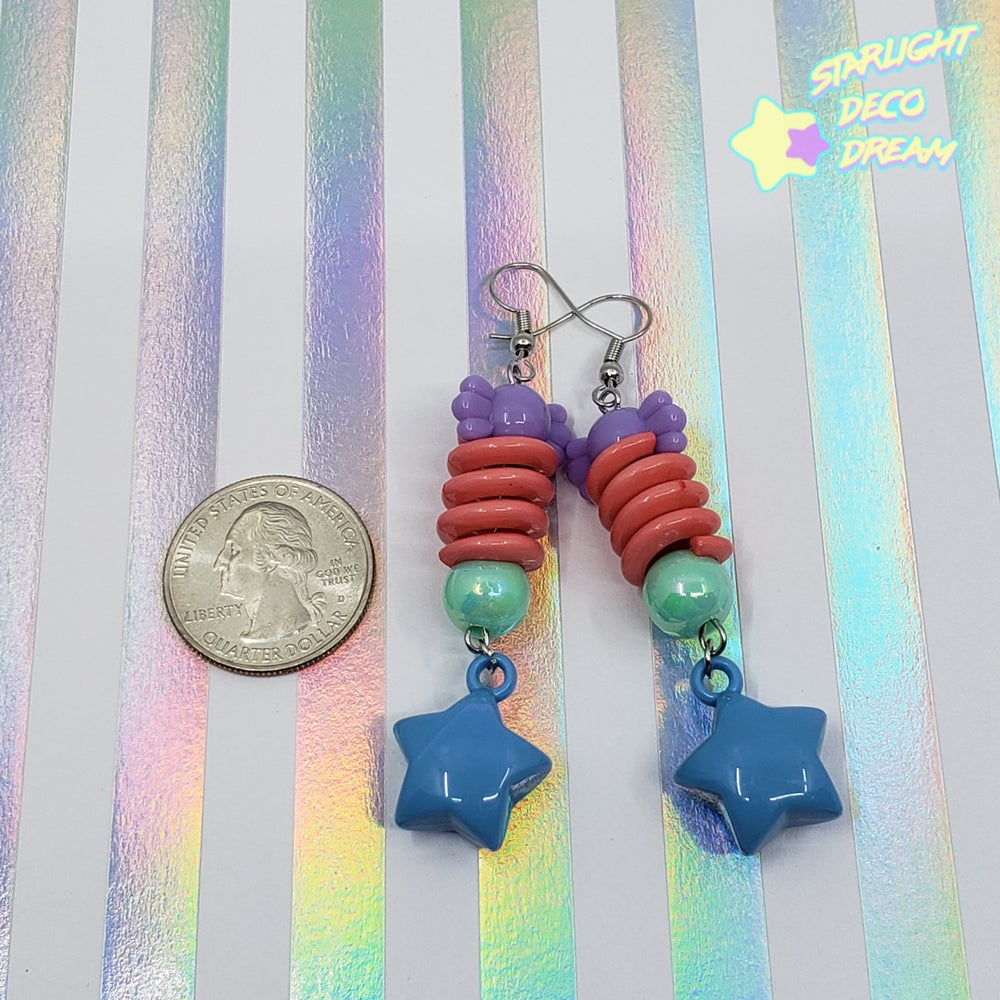 Image of Retro Funk Spiral Earrings Style Selection C