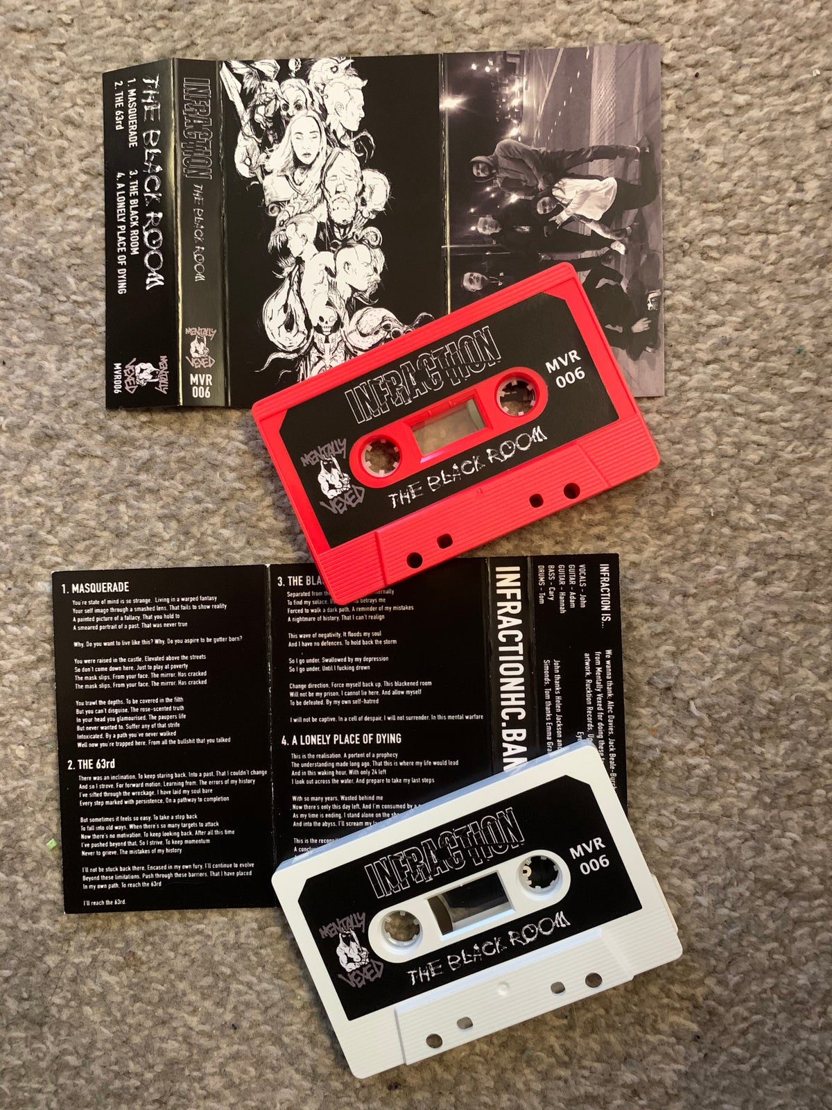 INFRACTION - THE BLACK ROOM - MVR006