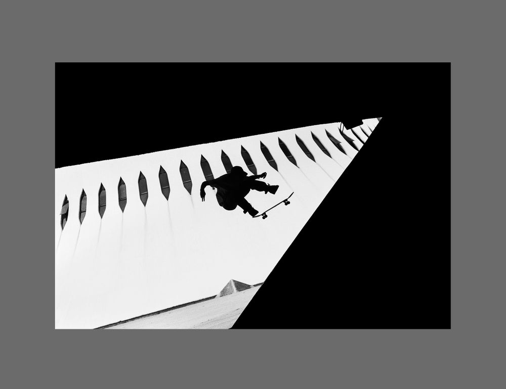 Image of LUCAS PUIG - 11x16CM FINE ART PRINT IN A4 PASSE-PARTOUT