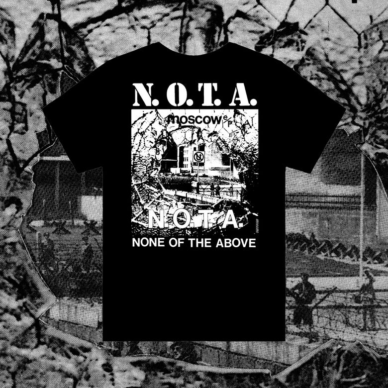 "Image of ARTCORE ISSUE 40 WITH N.O.T.A. - MOSCOW BLUE VINYL 7""EP AND LIMITED EDITION T SHIRT OFFER"