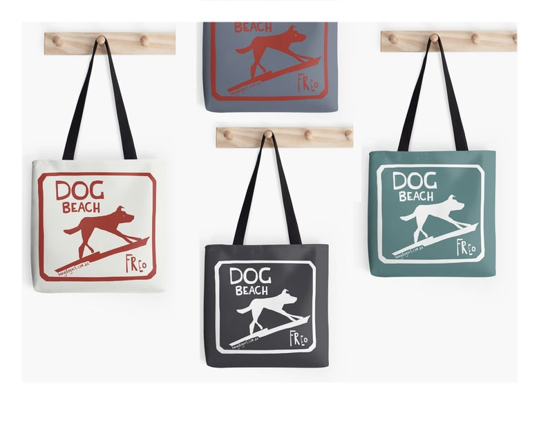 Image of Tote bag: The Dingo Started it
