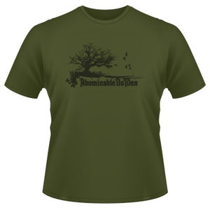 Image of Abominable No Men OD-Green T-Shirt