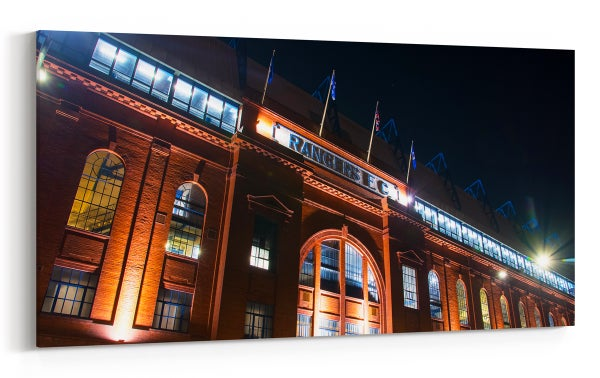 Image of Underneath The Lights - Ibrox Main Stand