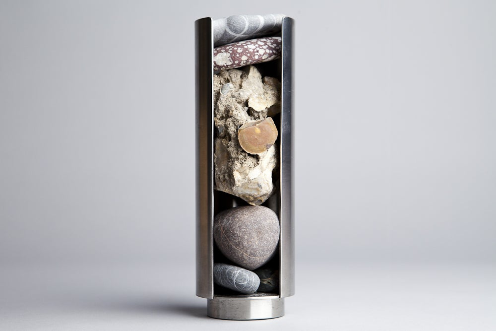 Nicole Wermers, <i>Rock Dispenser / model for outdoor sculpture</i>, 2010