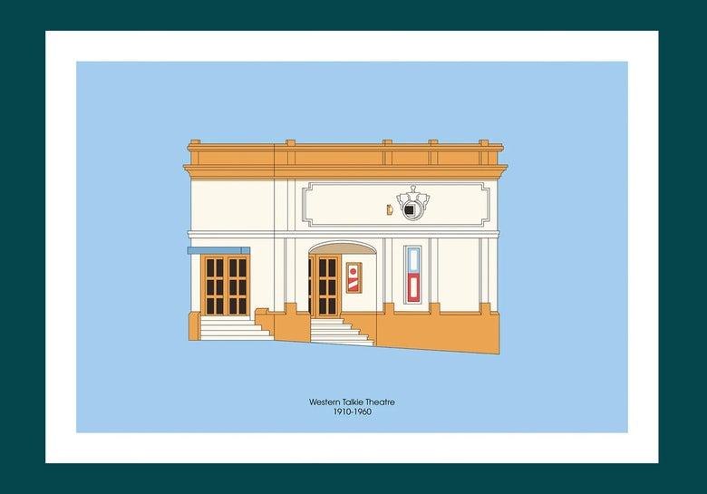 Image of A3 Print | Western Talkie Theatre