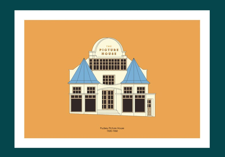 Image of A3 Print | Pudsey Picture House