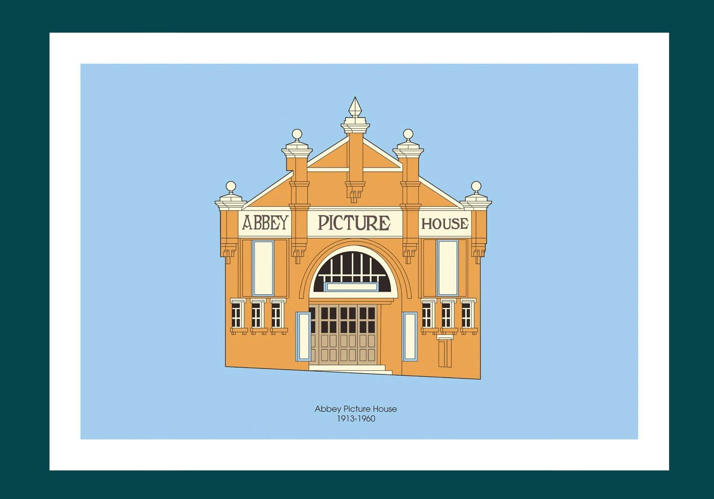 Image of A3 Print | Abbey Picture House