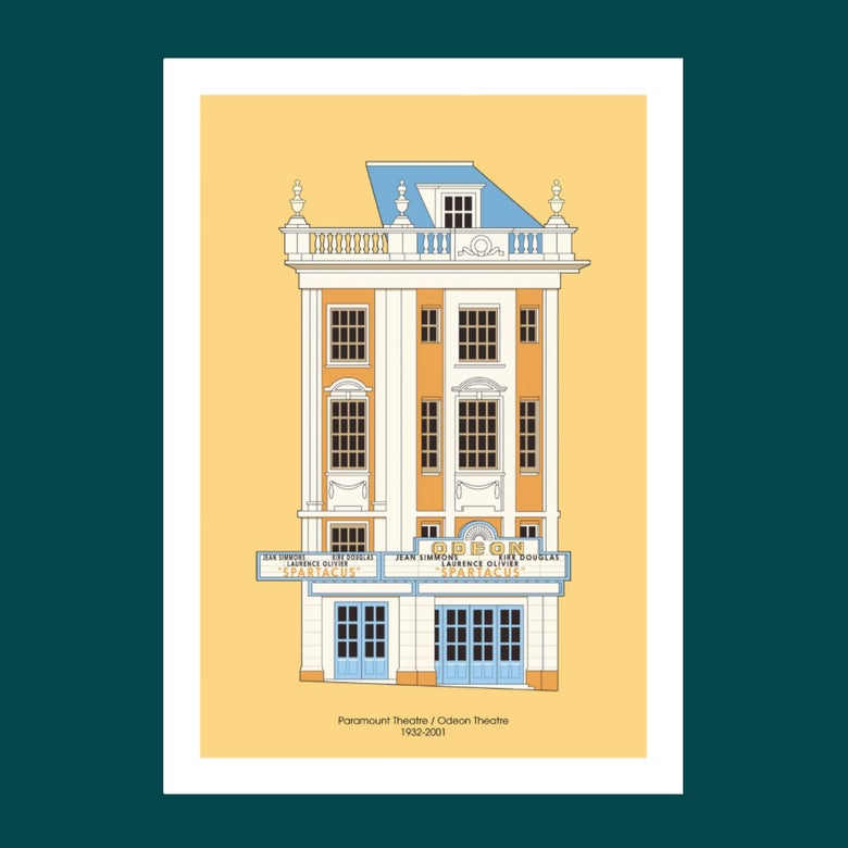 Image of A3 Print | Paramount Theatre