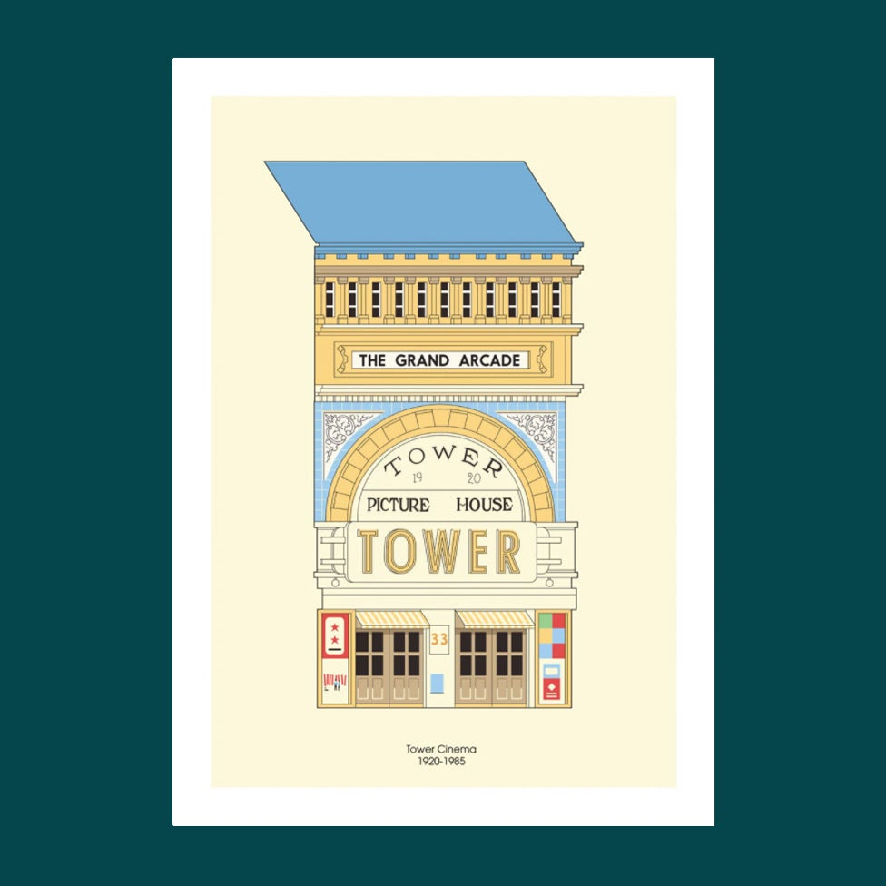 Image of A3 Print | The Tower Cinema