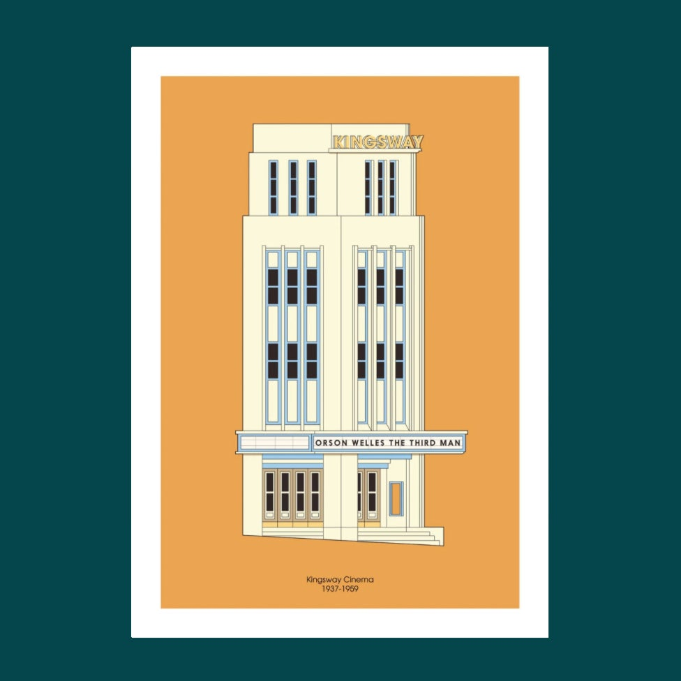 Image of A3 Print | Kingsway Cinema
