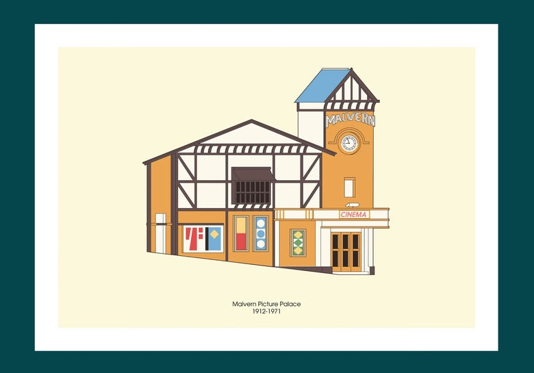 Image of A3 Print | Malvern Picture Palace