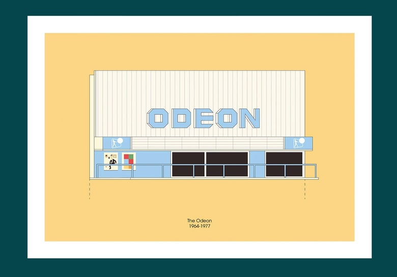 Image of A3 Print | Odeon, Merrion Centre