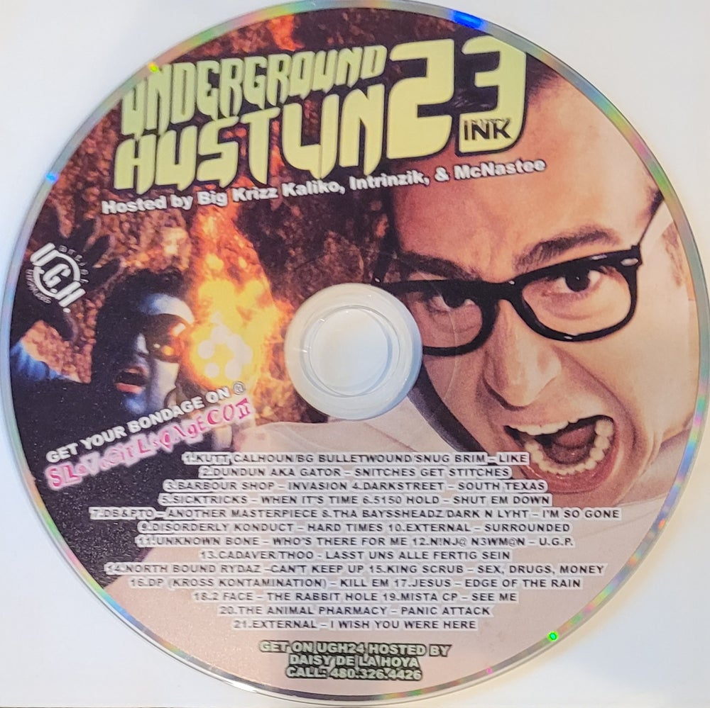 Image of Underground Hustlin' 23 hosted by Krizz Kaliko, Intrinzik & McNastee
