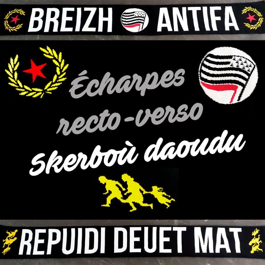 """Image of Écharpes / Skerboù """"Breizh Antifa — Repuidi deuet mat"""""""