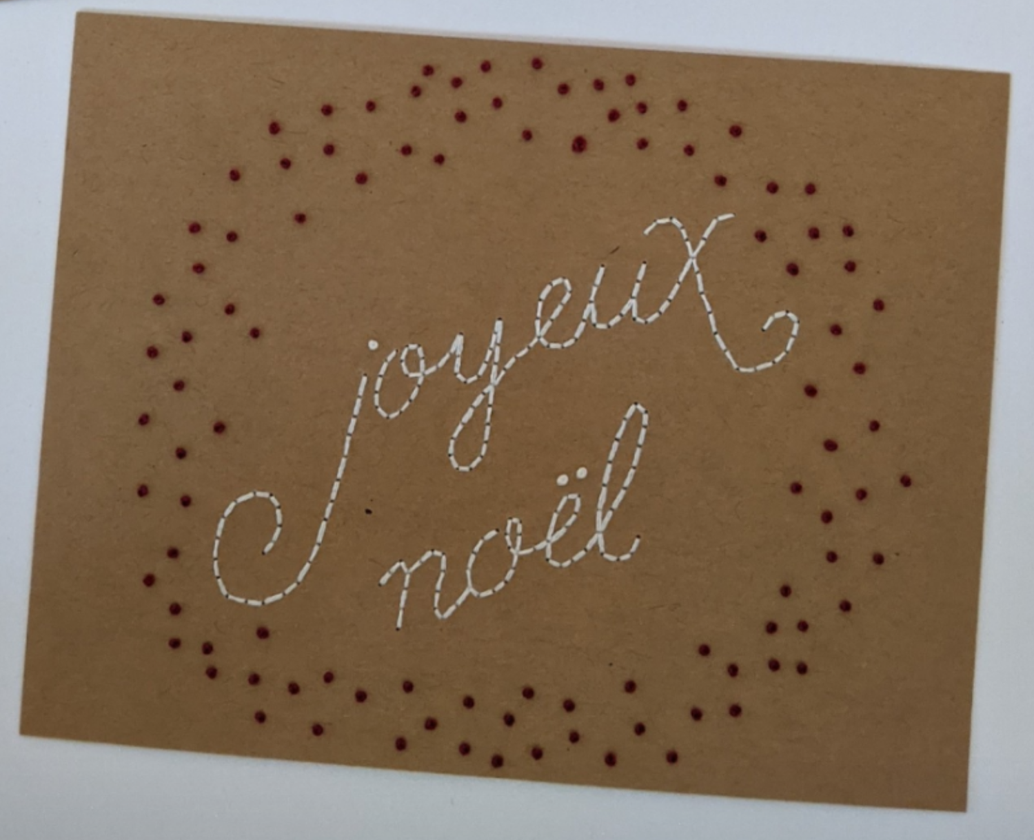 Image of Joyeux Noel - Red