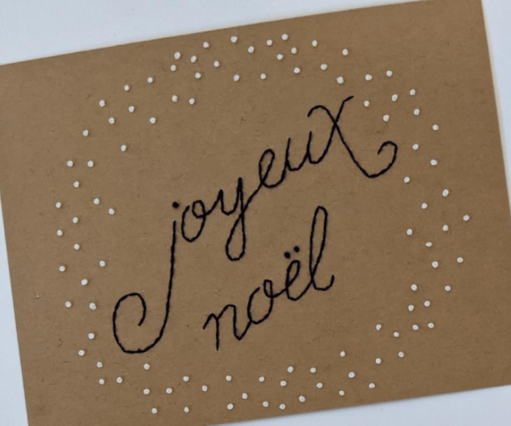 Image of Joyeux Noel - Navy