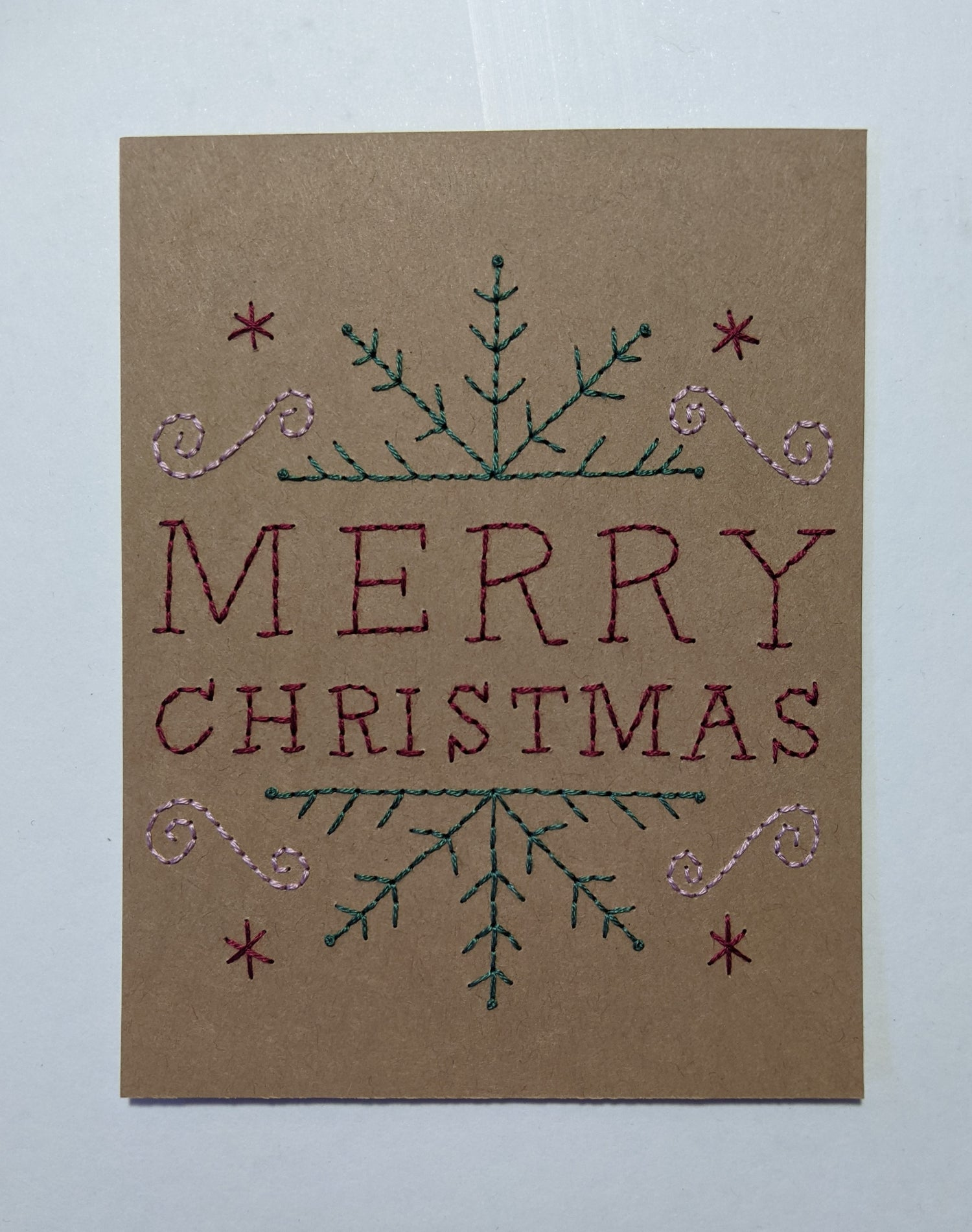 Image of Merry Christmas Snowflake