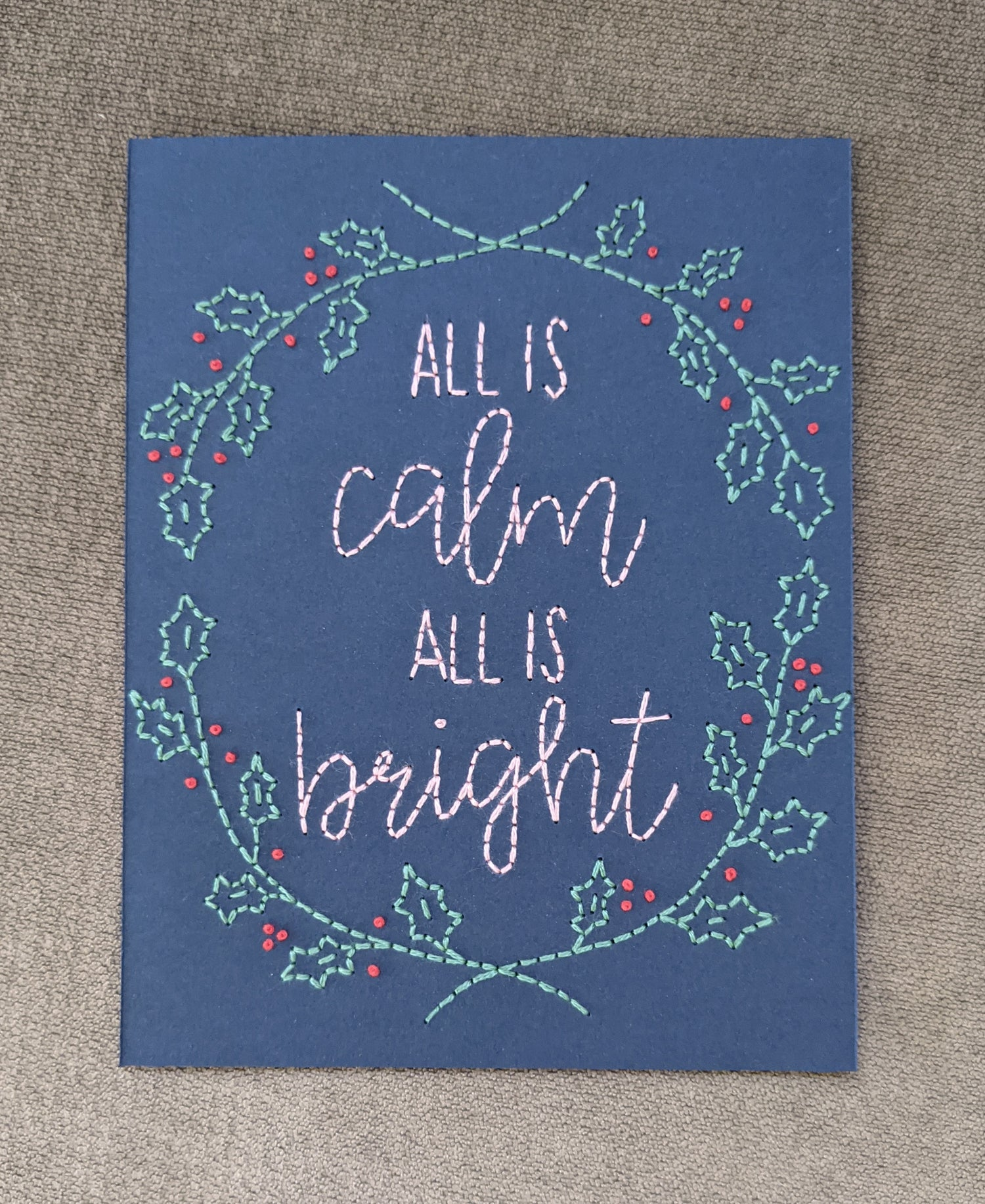 Image of All Is Calm Wreath