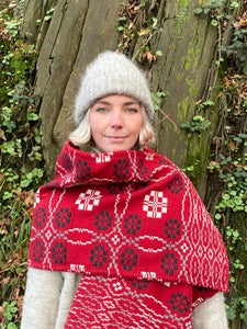 Image of Welsh Wool coldatnight Blanket scarf