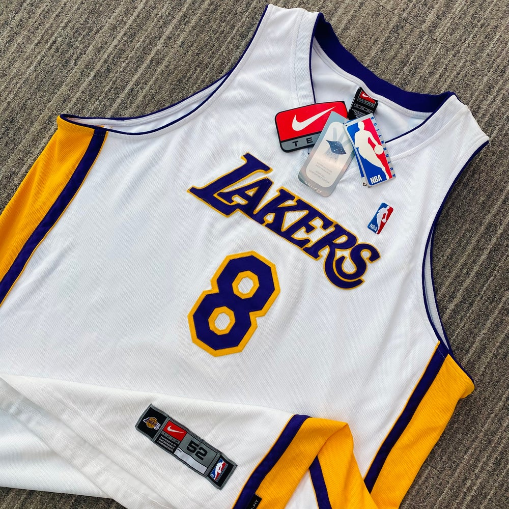 Image of Deadstock Kobe Bryant Los Angeles Lakers Nike Jersey