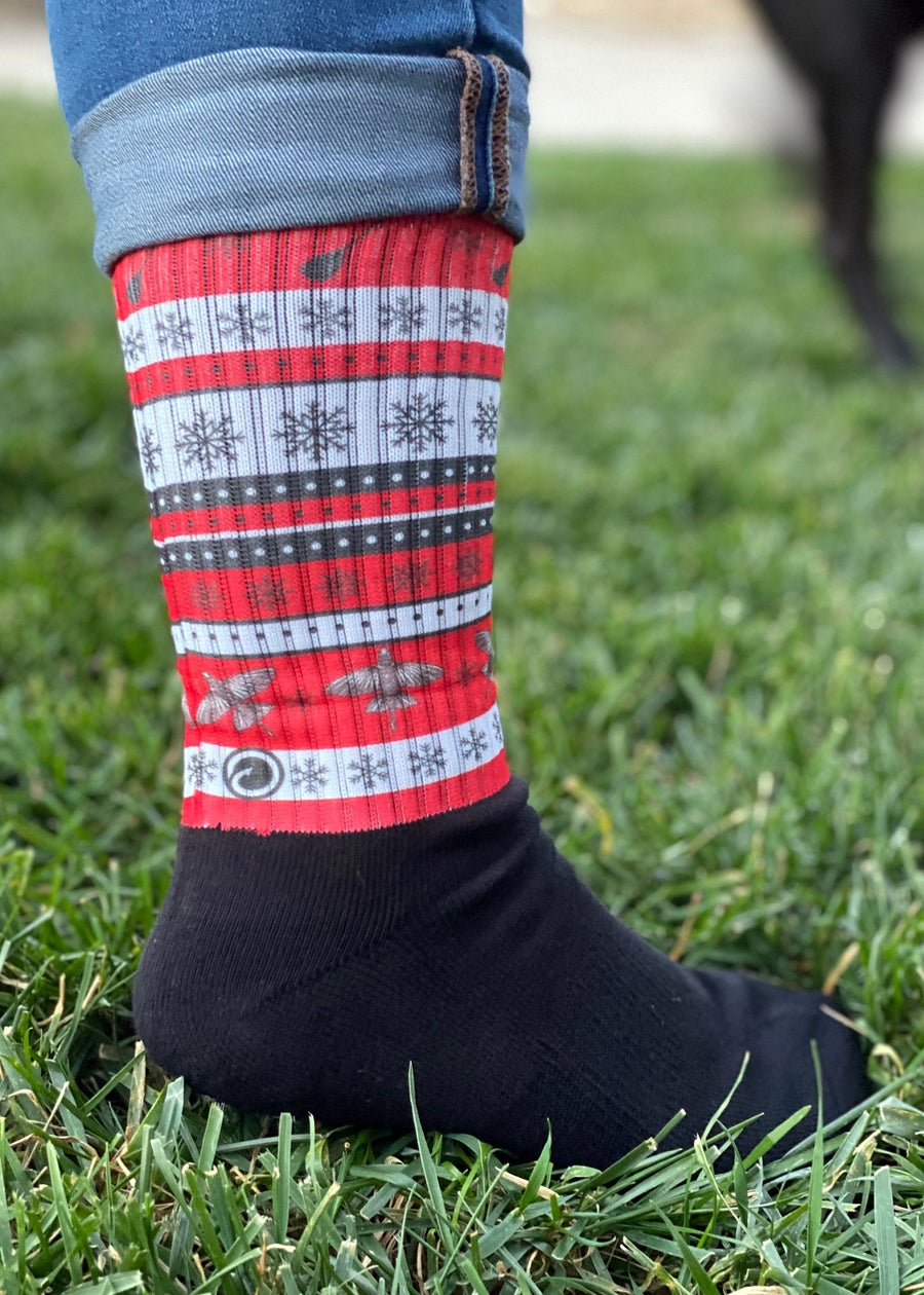 Image of Limited Edition Puakea Ugly Sweater Socks