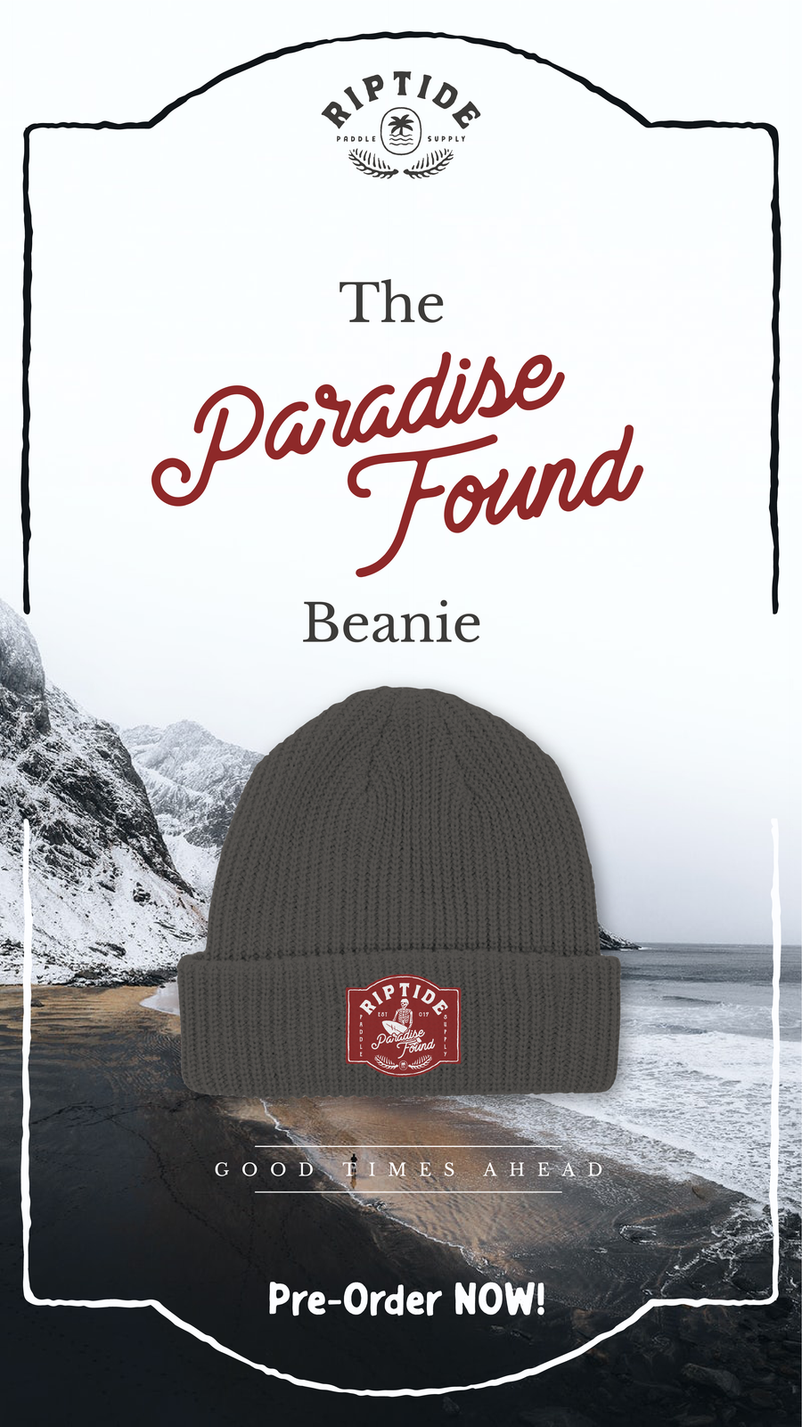 Image of The Paradise Found Beanie (surplus)