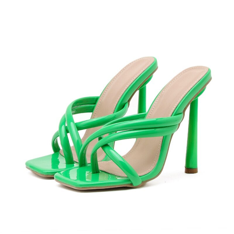 Image of TOLD YOU SO - GREEN  115MM MULES