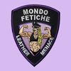 LEATHER MENACE IRON-ON PATCH