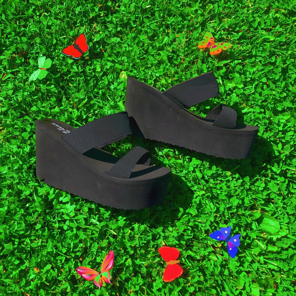Image of Y2k Wedge Sandals