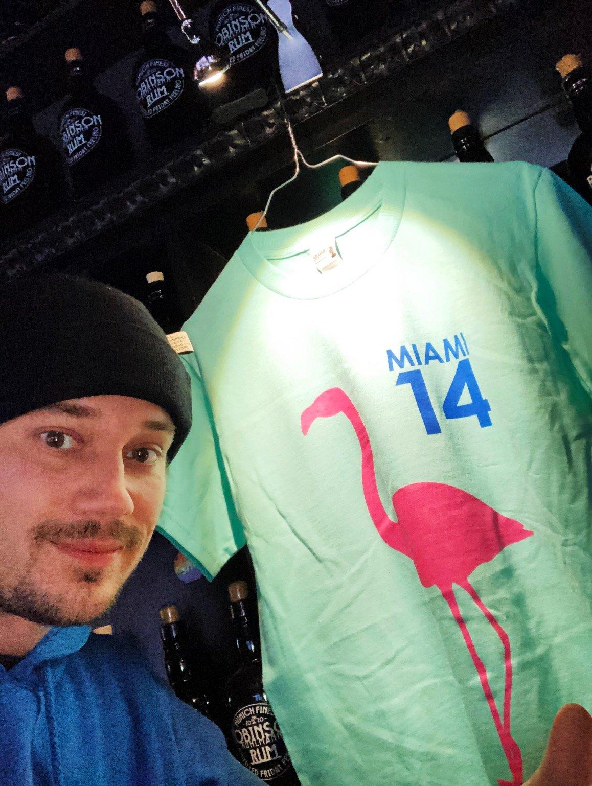 "Image of Robinson Bar ""Miami 14"" T-Shirt"