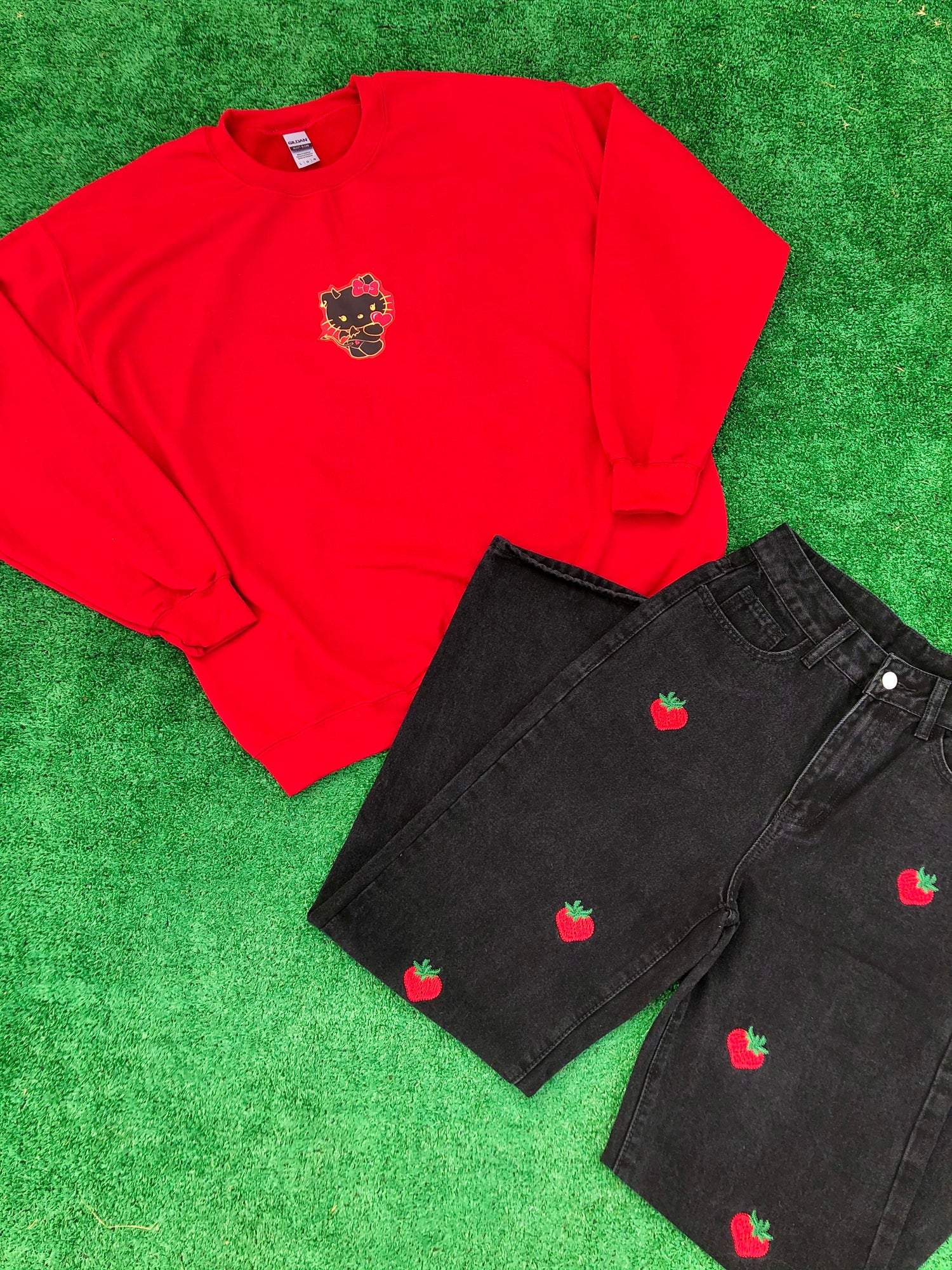 Image of Strawberry Jeans
