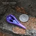 Mini Ornate Bird Skull - Violet