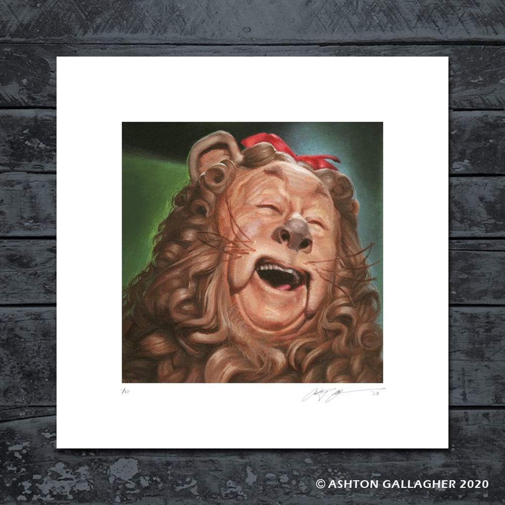 Image of LION MINI PRINT