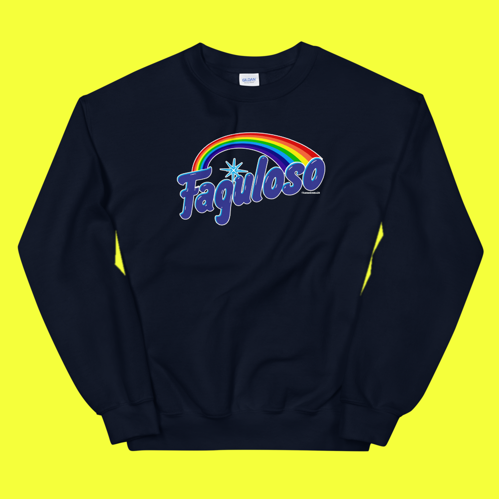 Image of Faguloso Sweatshirt Black or pink