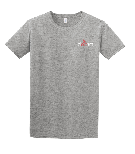 Image of Inside-out debra t-shirt - light grey