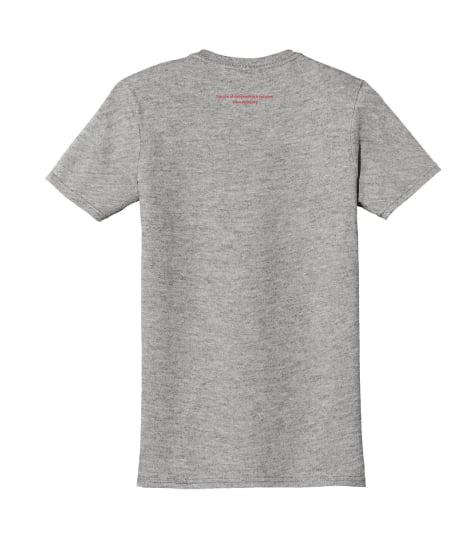 Image of Inside-out debra t-shirt - light grey