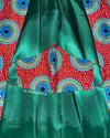 Emerald Silk Mask